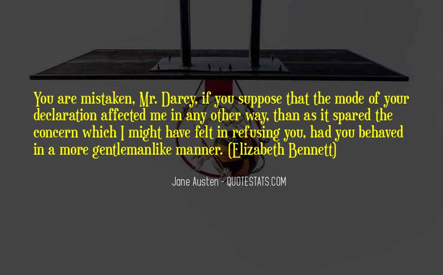 Quotes About Mr Darcy #1092154
