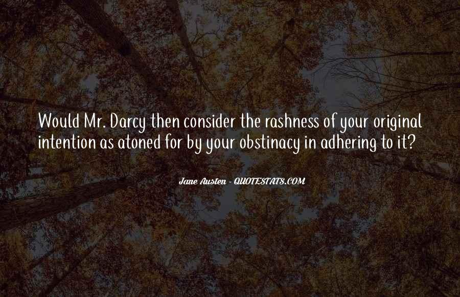 Quotes About Mr Darcy #231395