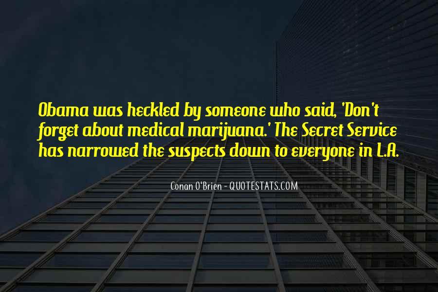 Quotes About The Secret Service #1286212