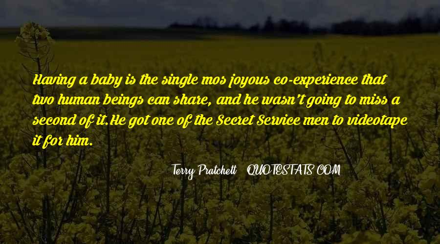 Quotes About The Secret Service #1705126