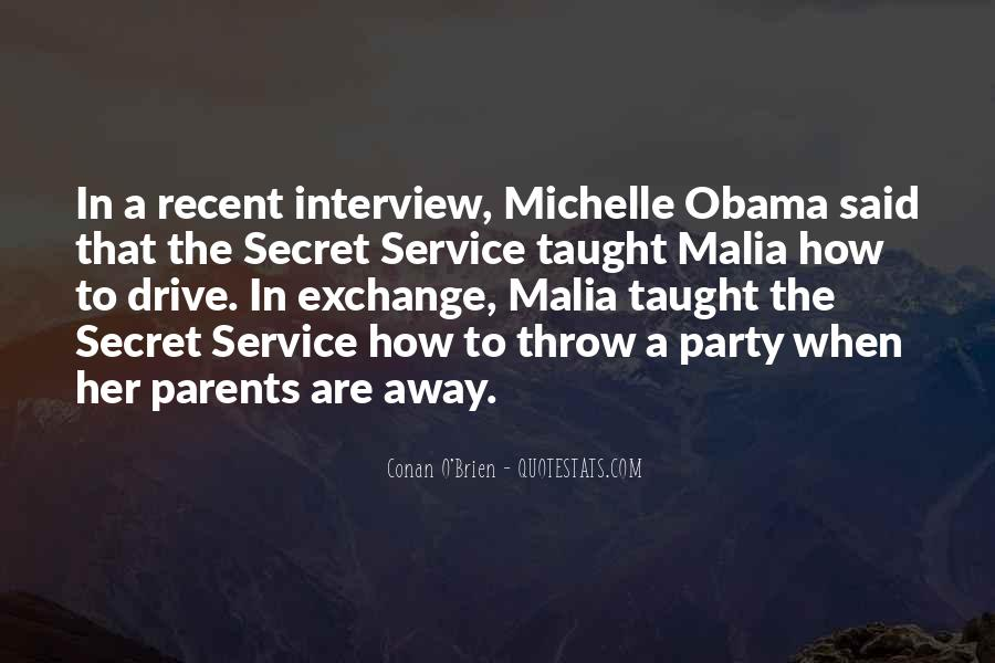 Quotes About The Secret Service #303785