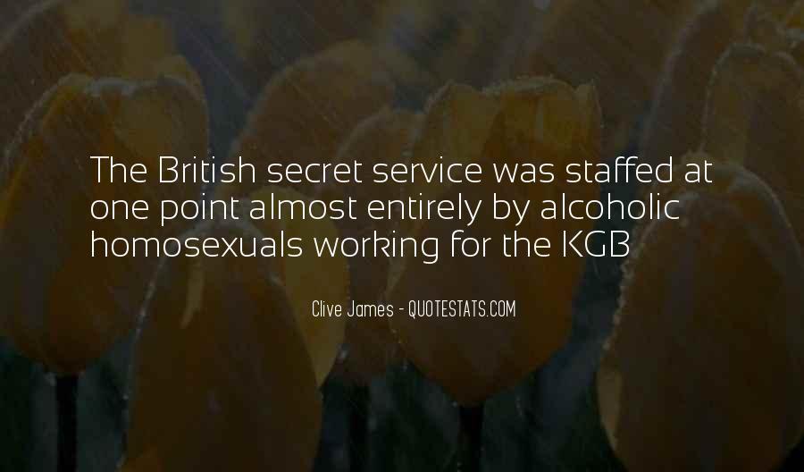 Quotes About The Secret Service #736865