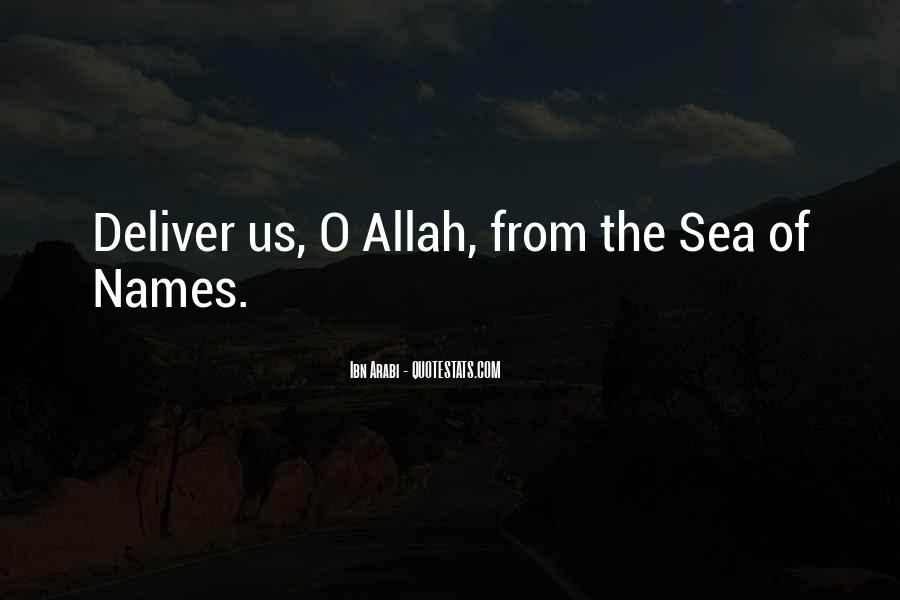 Quotes About Names Of Allah #820402