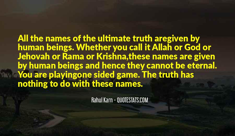 Quotes About Names Of Allah #838775