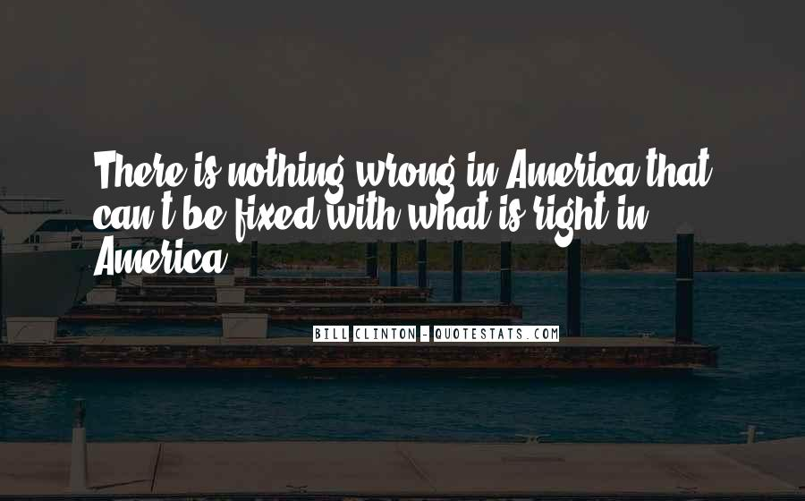 Quotes About What's Wrong With America #207496