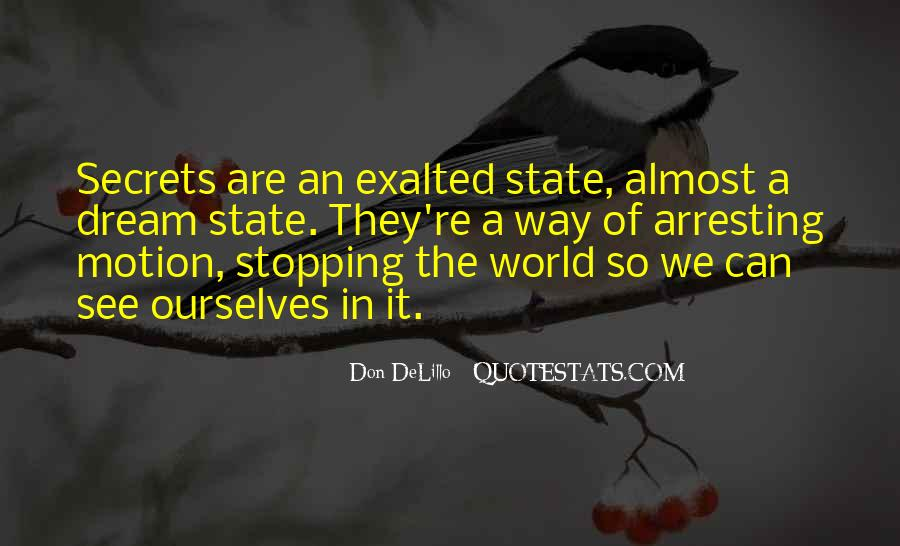 Quotes About Dream State #1091397