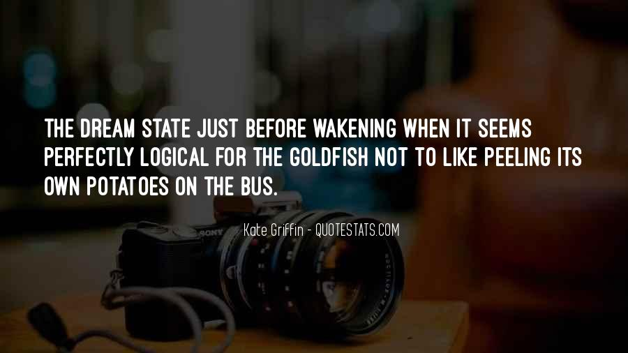 Quotes About Dream State #1287166