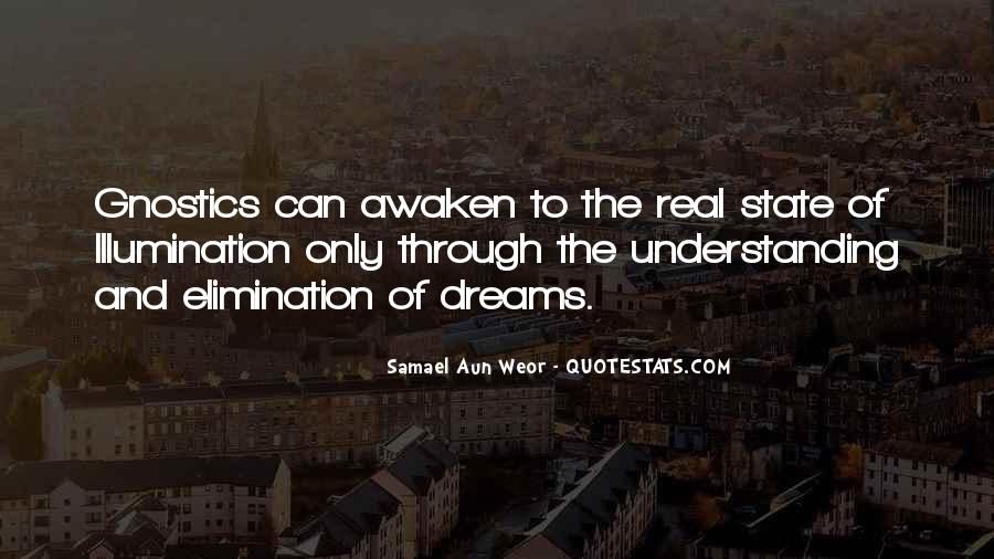 Quotes About Dream State #1352714