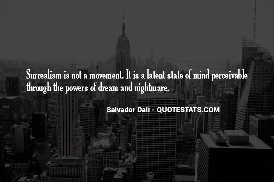 Quotes About Dream State #1411940