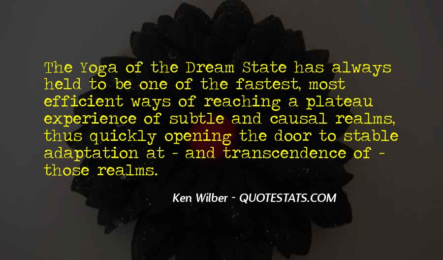 Quotes About Dream State #1573783