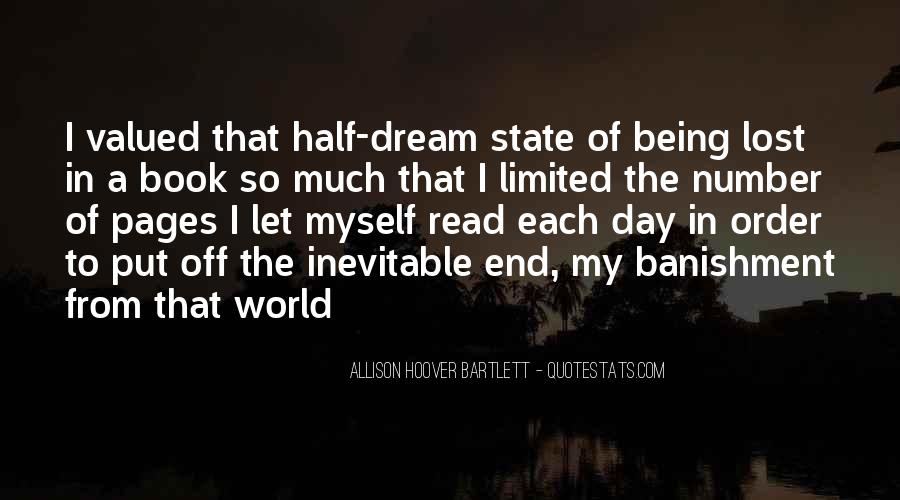 Quotes About Dream State #1587050