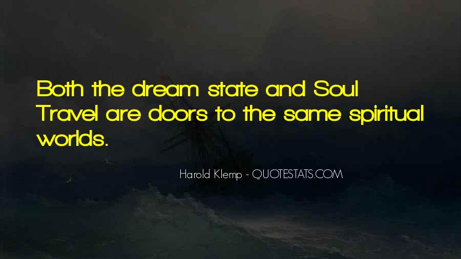 Quotes About Dream State #1619259
