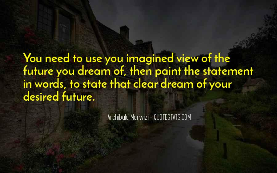 Quotes About Dream State #1662883