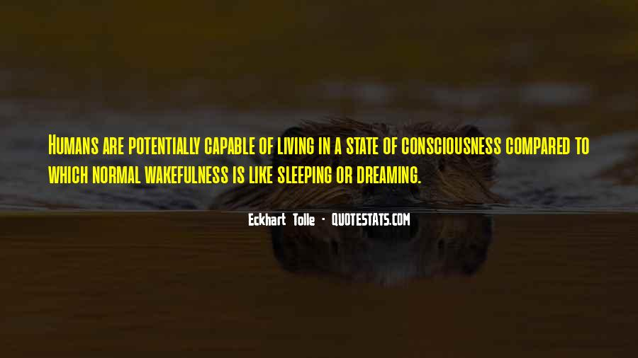 Quotes About Dream State #234645