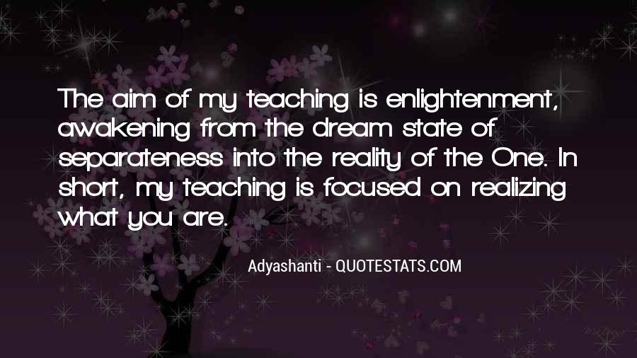 Quotes About Dream State #269324