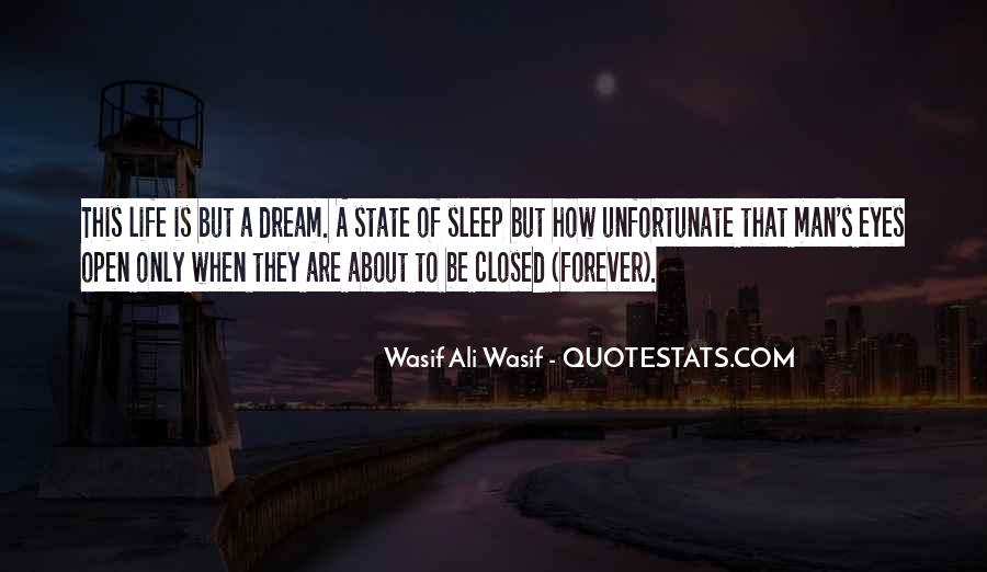 Quotes About Dream State #372574