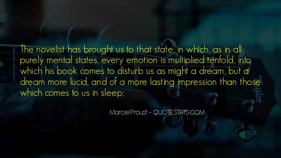 Quotes About Dream State #483789