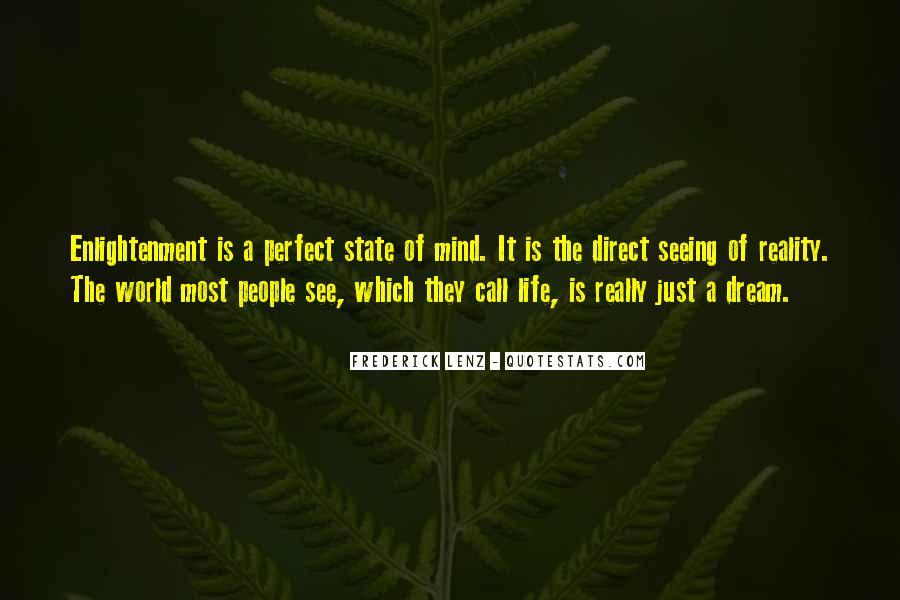 Quotes About Dream State #636385