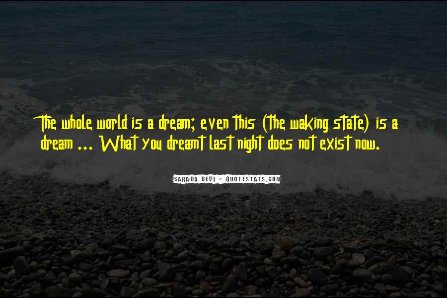 Quotes About Dream State #832241