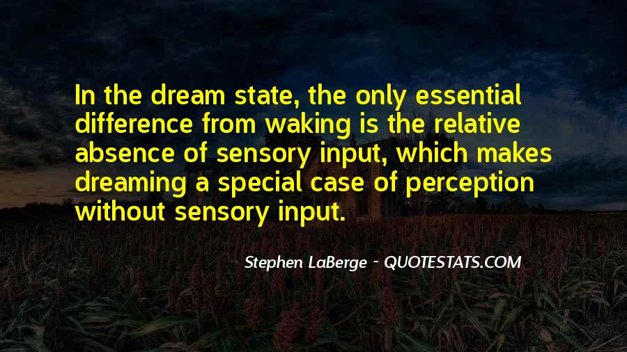 Quotes About Dream State #852521