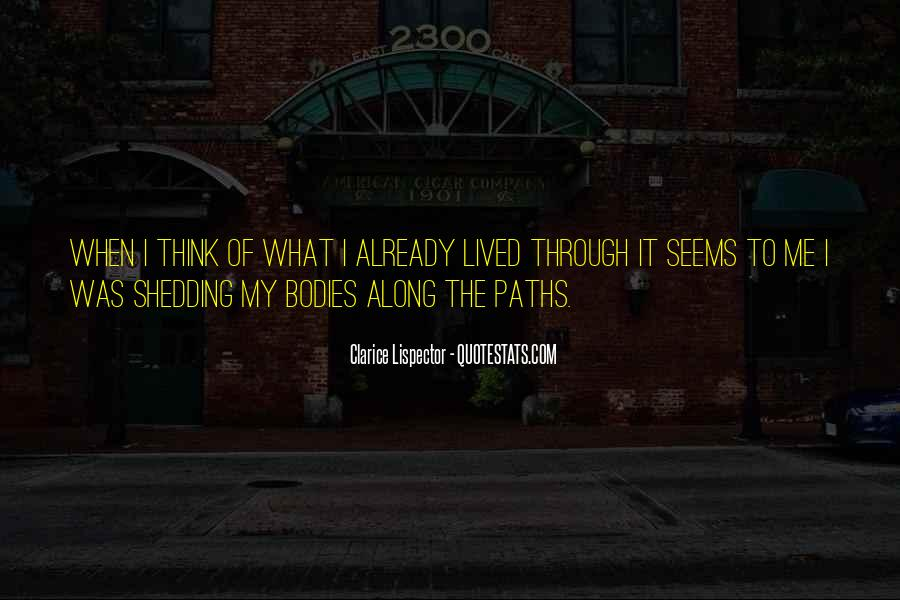 Quotes About Our Paths In Life #336034