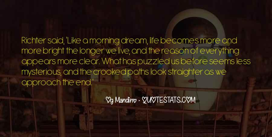 Quotes About Our Paths In Life #415542