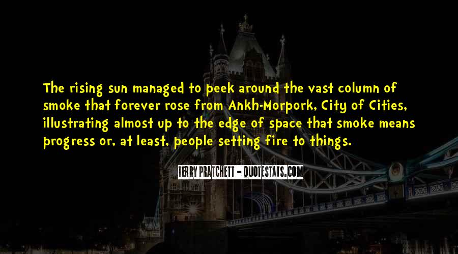 Quotes About The Sun Setting And Rising #1213015