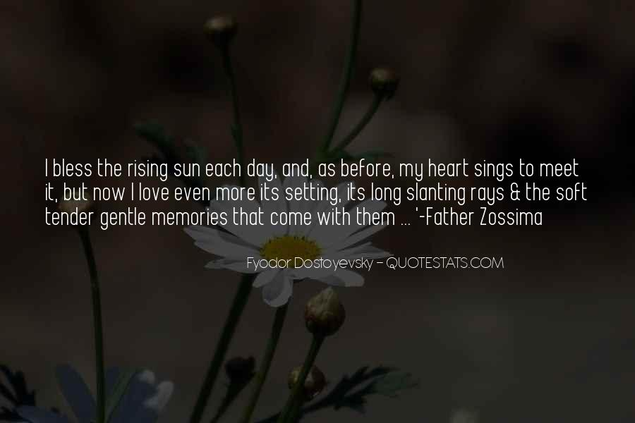 Quotes About The Sun Setting And Rising #261014