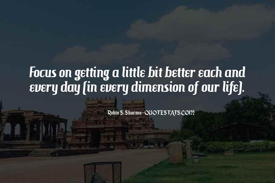 Quotes About Things Getting Better In Life #790127