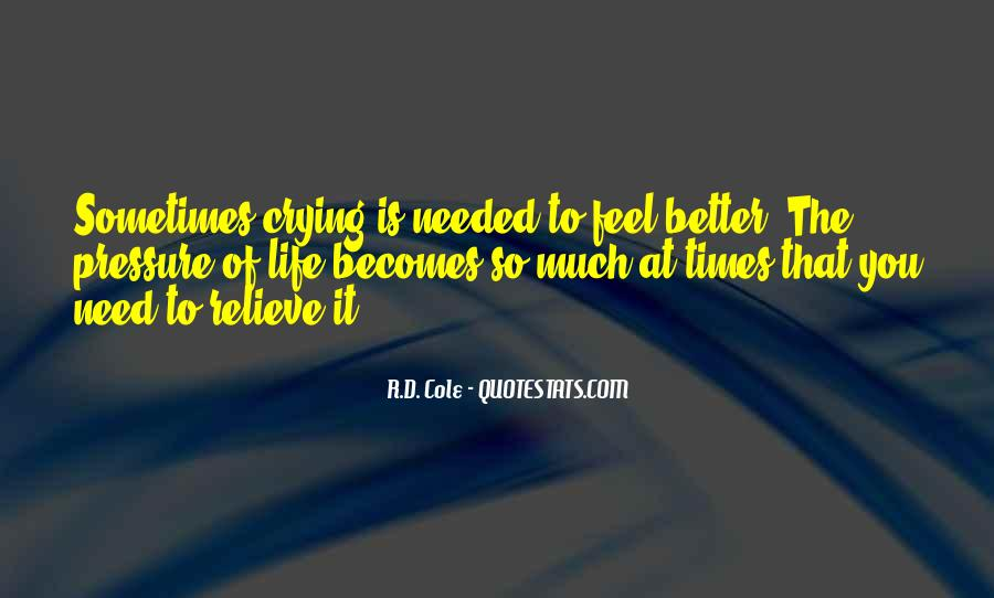 Quotes About Things Getting Better In Life #92546