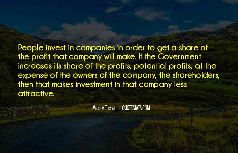 Quotes About Profits #181521