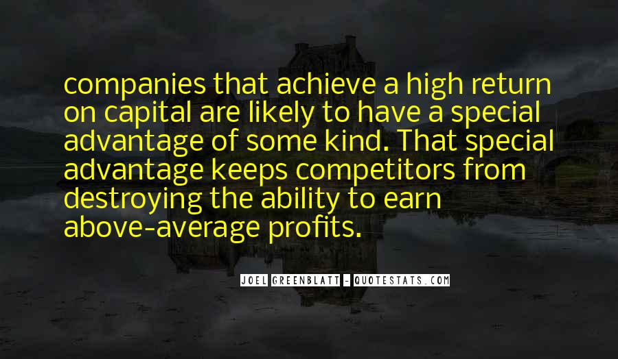 Quotes About Profits #181635