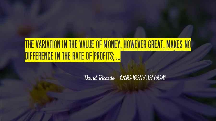 Quotes About Profits #183563