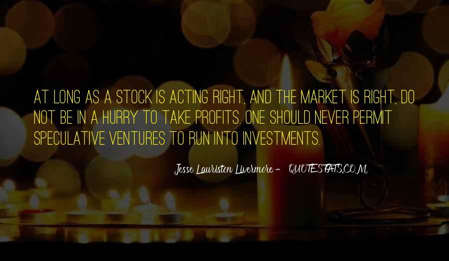 Quotes About Profits #188015