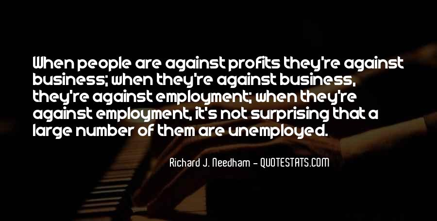 Quotes About Profits #234384