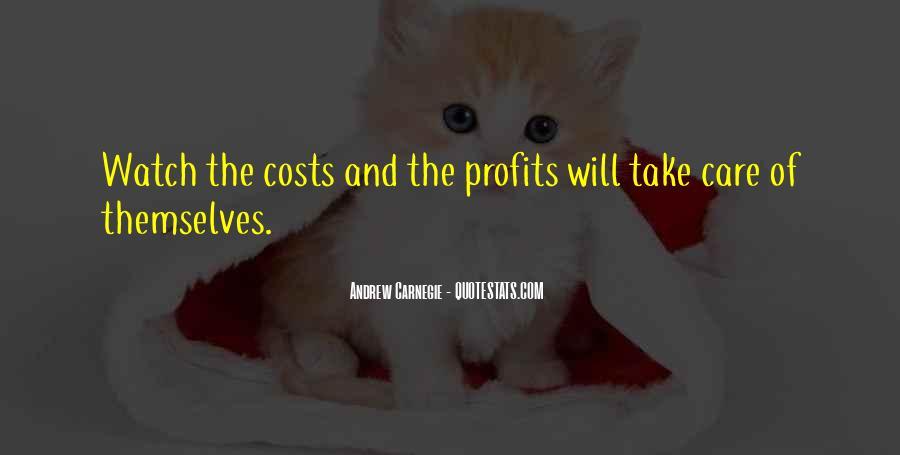 Quotes About Profits #241465