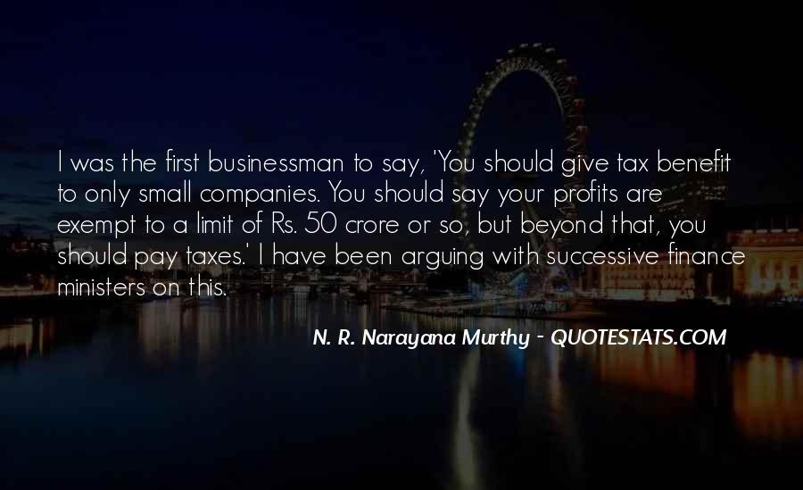 Quotes About Profits #286026