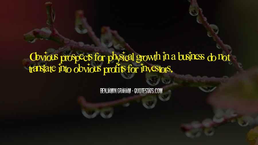 Quotes About Profits #287937