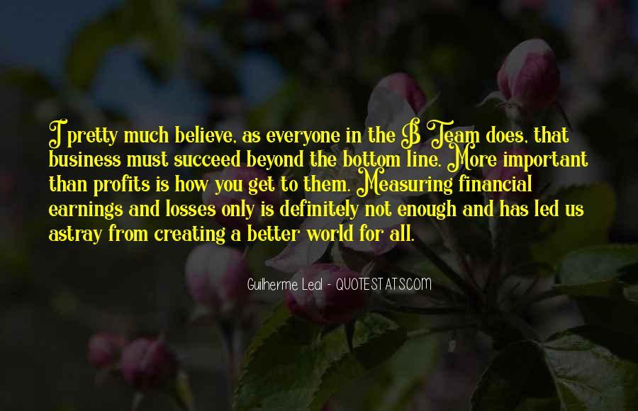 Quotes About Profits #31301