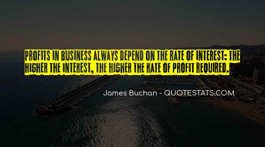 Quotes About Profits #320945