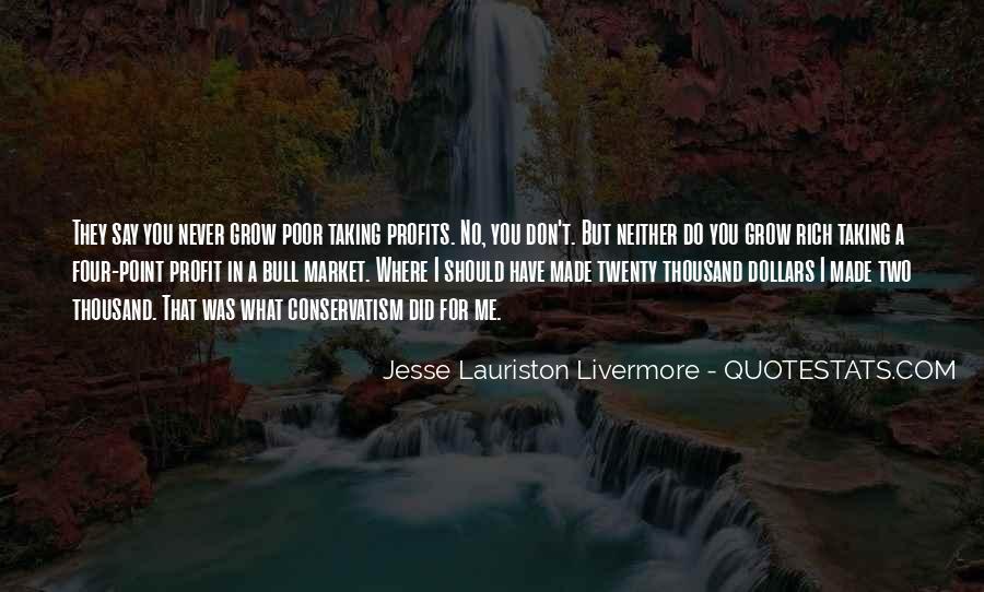 Quotes About Profits #60742
