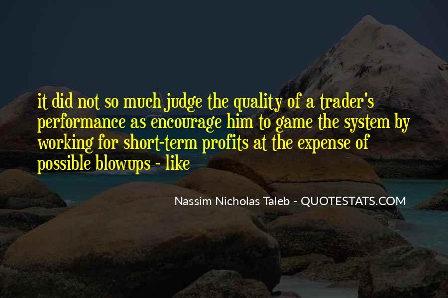 Quotes About Profits #8129