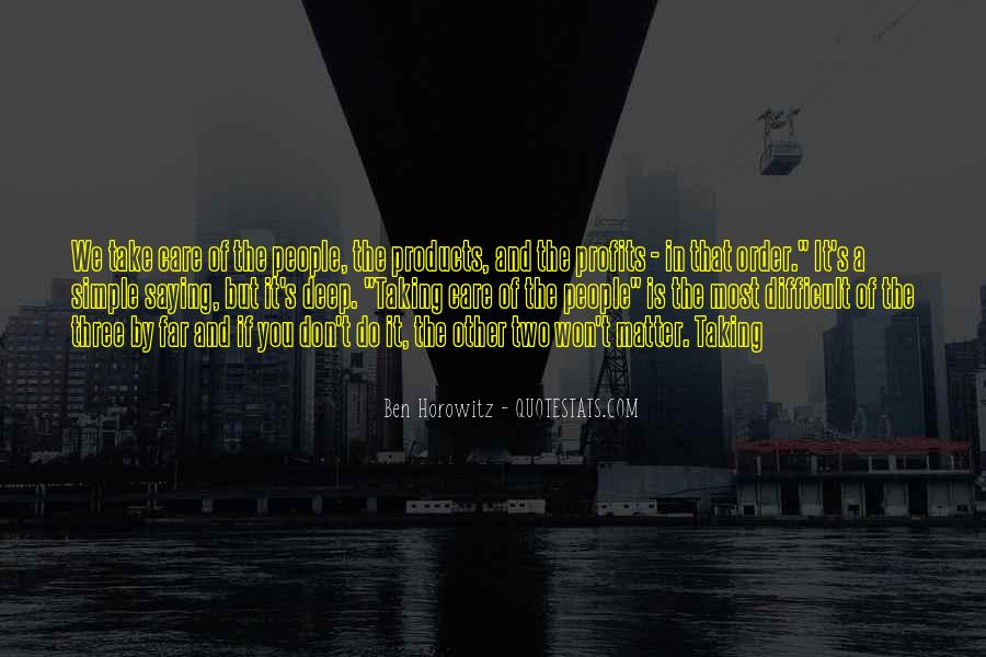 Quotes About Profits #92061
