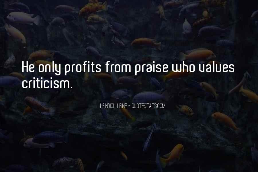 Quotes About Profits #94282