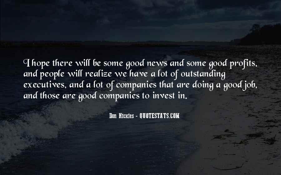 Quotes About Profits #9736