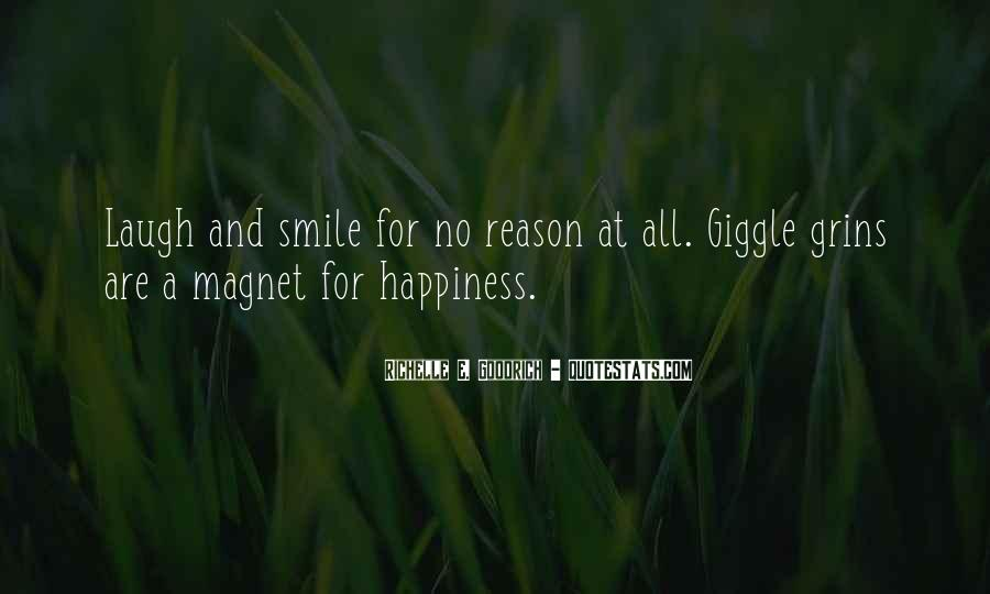 Quotes About Reason For Smiling #1357030