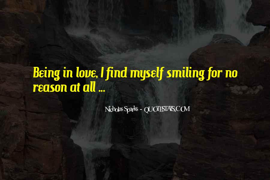 Quotes About Reason For Smiling #1662537