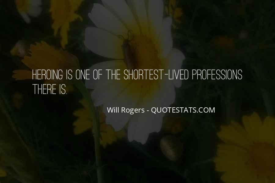 Quotes About Professions #124336