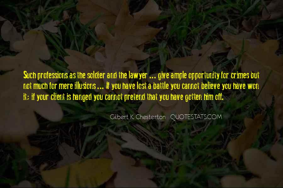 Quotes About Professions #220091
