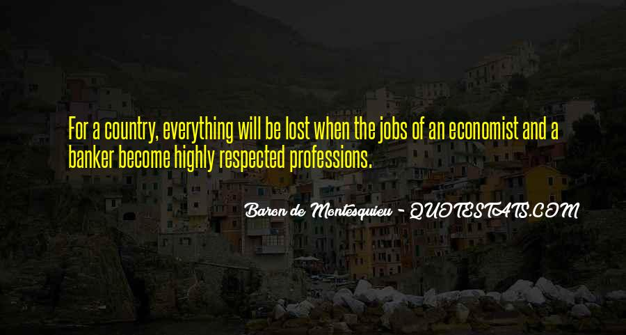 Quotes About Professions #346999
